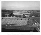 East campus, looking north over Husky Stadium, University of Washington, September 26, 1958