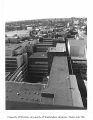 Rooftops of Health Sciences complex, University of Washington, 1982