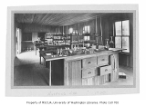 Assay Laboratory interior, University of Washington, 1900