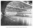 Gymnasium interior, University of Washington, n.d.