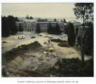 Allen Library site preparation, University of Washington, ca. 1989