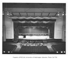 Old Meany Hall auditorium, University of Washington, October 7, 1958