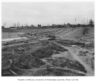 Husky Stadium under construction, University of Washington, September 15, 1920