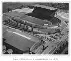 Aerial of Husky Stadium and Edmundson Pavilion, University of Washington, July 2, 1951