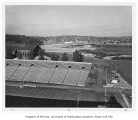 Husky Stadium view looking north, University of Washington, September 1958