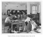 Forestry Library interior, Anderson Hall,  University of Washington, October 1948