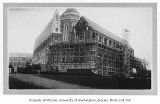 Suzzallo Library southeast wing under construction, University of Washington, November 1934