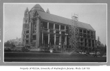 Suzzallo Library southeast wing under construction, University of Washington, September 6, 1934