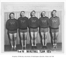 Basketball team, University of Washington, 1926
