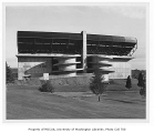 Husky Stadium grandstand, University of Washington, October 30, 1950