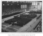 Commencement ceremony inside Edmundson Pavilion, University of Washington, June 12, 1932