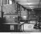 Electrical Lab, interior view, Old Engineering Hall, University of Washington , ca. 1928