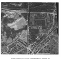 Northeast east campus and environs, aerial view, University of Washington, ca. 1952