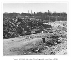 Montlake Landfill, looking southwest toward north campus, University of Washington, February 4,...
