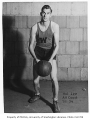 Basketball player Hal Lee, University of Washington, 1934