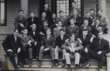 Members of the 1907-1908 Sigma Alpha Epsilon chapter at UW, circa 1907-1908