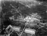 Aerial view of the campus and the University District, ca. 1920