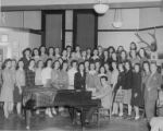 University of Washington choir, circa 1943-1944
