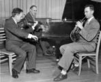 Violin, piano and French horn trio featuring Stanley Chapple, April 1954