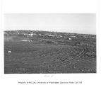 Montlake Landfill, looking northeast, University of Washington, November 21, 1956