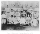 Football team, University of Washington, 1892