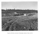 Montlake Landfill, looking west toward north campus, University of Washington, February 4, 1958
