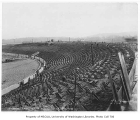 Husky Stadium under construction, University of Washington, October 9, 1920
