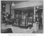 Administration Building (now Denny Hall) interior showing chemistry lab, University of Washington,...
