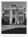 Raitt Hall showing southwest side, University of Washington, May 22, 1958