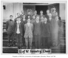 Forestry students, University of Washington, ca. 1910