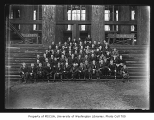 Forestry students, University of Washington, ca. 1920