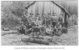 Mining students on field trip, University of Washington, 1911