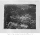 Aerial of campus from the southeast, University of Washington, 1920