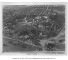 Aerial of campus from the southeast, University of Washington, 1924
