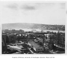 Panorama of southern portion of campus taken from north, University of Washington, 1958