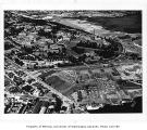 Aerial of campus from the southwest, University of Washington, ca. 1955