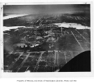 Aerial of campus from the north, University of Washington, 1920