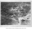 Aerial of campus from the southeast, University of Washington, ca. 1925