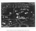 Aerial of campus from the south, University of Washington, ca. 1929