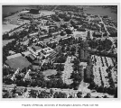 Aerial of campus from the north, University of Washington, 1959