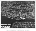 Aerial of campus from the south, University of Washington, n.d.