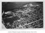 Aerial of campus from the northwest, University of Washington, ca. 1932