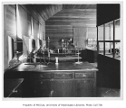 Denny Hall interior showing chemistry laboratory, University of Washington,  n.d.