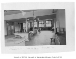 Administration Building (now Denny Hall) interior showing physical lab, University of Washington,...