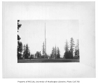 Flagpole, University of Washington, ca. 1915