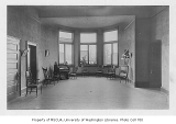 Administration Building (now Denny Hall) interior showing women's room, University of Washington,...