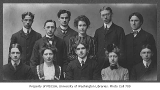 A.S.U.W. Executive Committee, University of Washington, 1901-1902