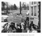 Civil rights protest, University of Washington, March 4, 1960