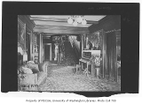 President's residence interior, University of Washington, May 1912