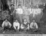Baseball team, Vashon Island, 1894